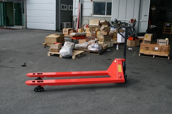 Xe nâng tay 5 tấn càng dài 1m5