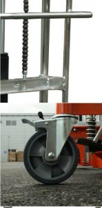 Thiê´t Kê´ Xe Nâng Mini 400kg 1.1