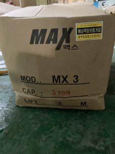 Palang xích tay max 3 tấn
